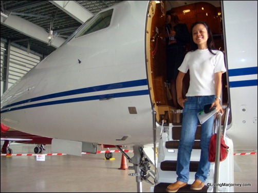 LivingMarjorney and the Falcon 2000LX