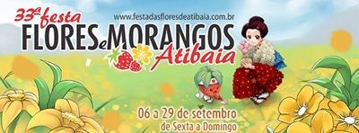 33ª Festa das Flores e Morangos de Atibaia 2013