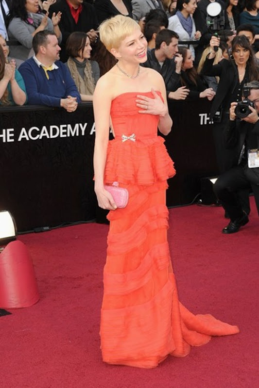 Michelle Williams in Louise Vuitton