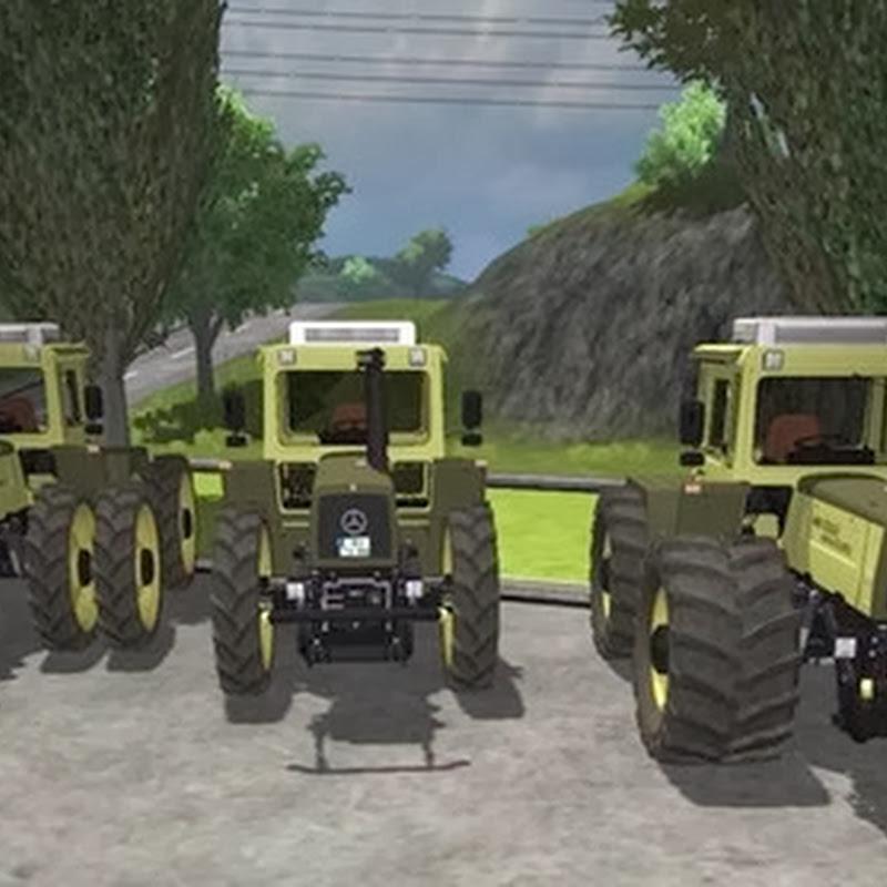 Farming simulator 2013 - MB trac 1600 turbo v 1.0