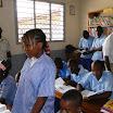 Cette élève répond au journaliste de la RTC radio télévision congolaise de Brazzaville.JPG