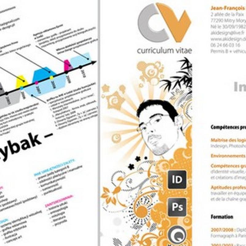 Macam Contoh Creative CV