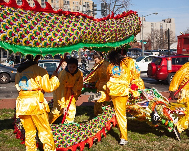 2012 Chinese New Year Parade Washington DC