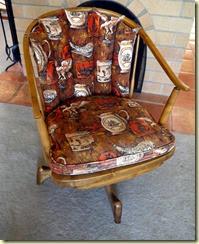 Midcentury rocking chair