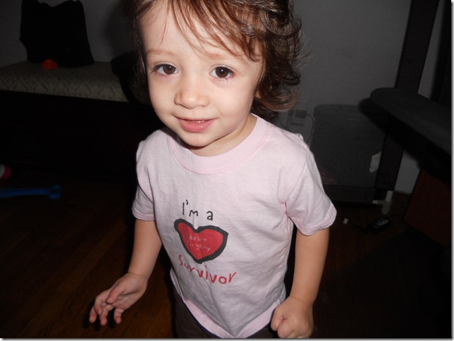 Genevieve Norton - she is 3 years old open heart surgery at age 2 for Aortic Stenosis and moderate regurgitation.