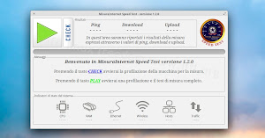 MisuraInternet Speed Test in elementary OS Linux