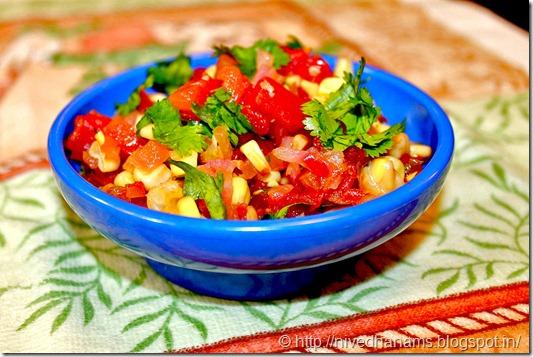 Mexican Cuisine - Corn Pico Di Gayo - IMG_1638