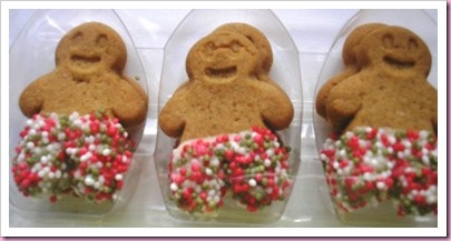 Marks and Spencer Jazzie Trousers Gingerbreadmen