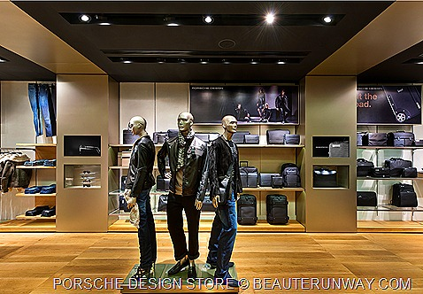 Porsche Fall Winter 2011 Men Design Store Singapore at The Shoppes at Marina Bay Sands