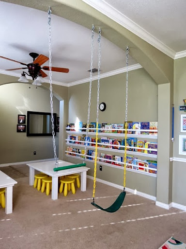 hanging a swing indoors