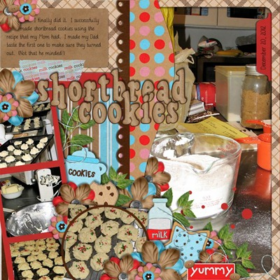 Katie Creates - Milk N Cookies - Shortbread