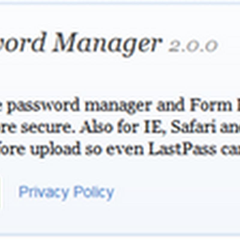 Auto login เข้าเวบโปรดโดยไม่ต้องกรอก username และ Password