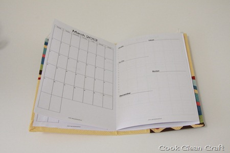 Fabric Covered Monthly Planner Tutorial (12)