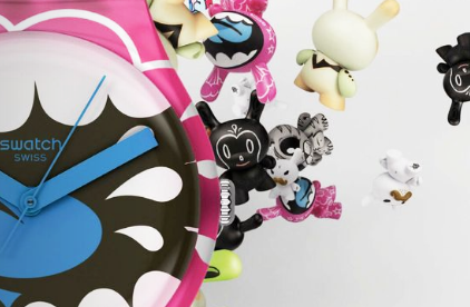Imagen Kidrobot for Swatch