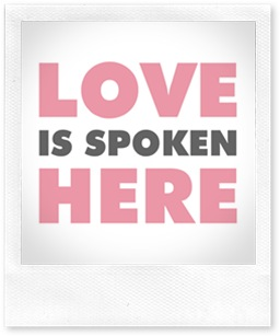 Just Because 21 - Love Is Spoken Here - 5x7 - Petal Pink - Sprik Space (2)