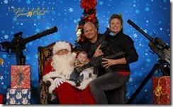 Santa with guns