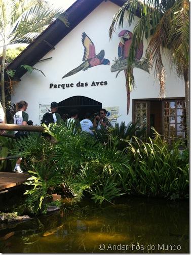 Entrada Parque das Aves Foz do Iguaçu BlogTurFoz