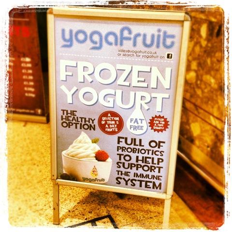 #313 - Yogafruit frozen yoghurt in Bristol