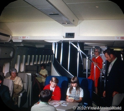 View-Master Pan Ams 747 (B747), Scene 3_2: First Class Compartment