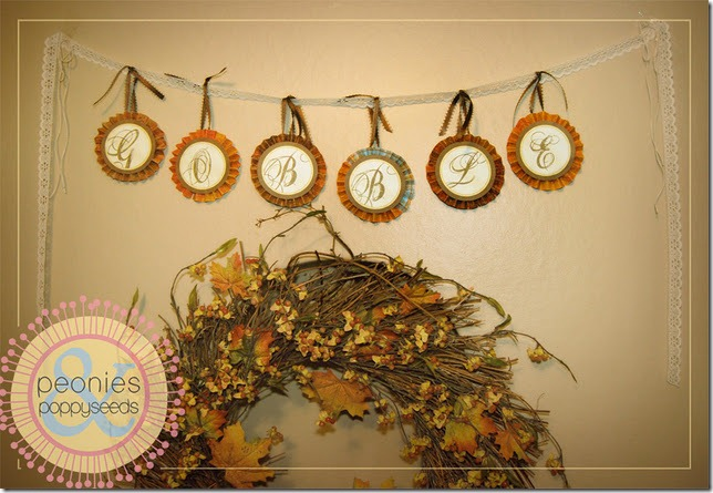 gobble gobble thanksgiving banner