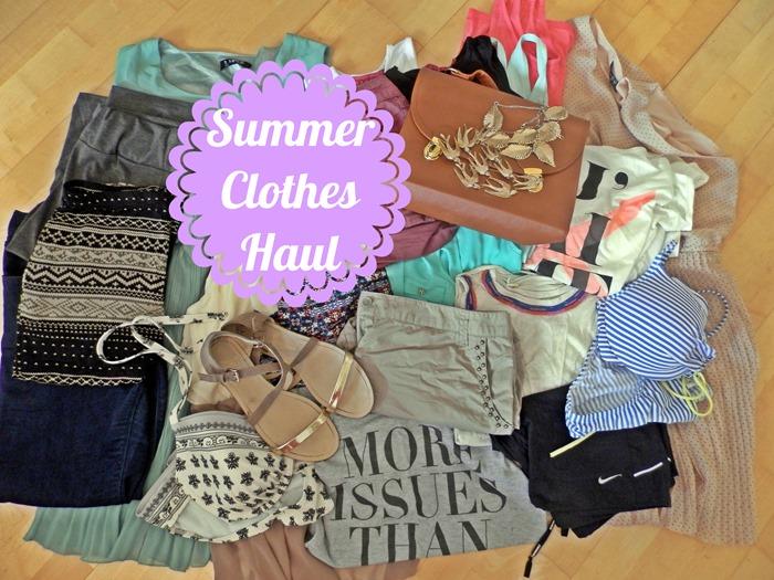 summer clothes haul
