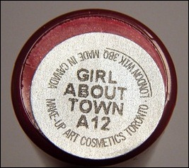 MAC Girl About Town Lipglass