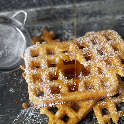 Essential Overnight Raised Waffles