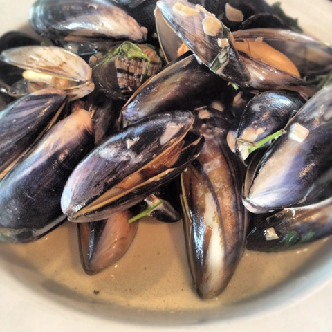 #146 - mussels with cider and cream