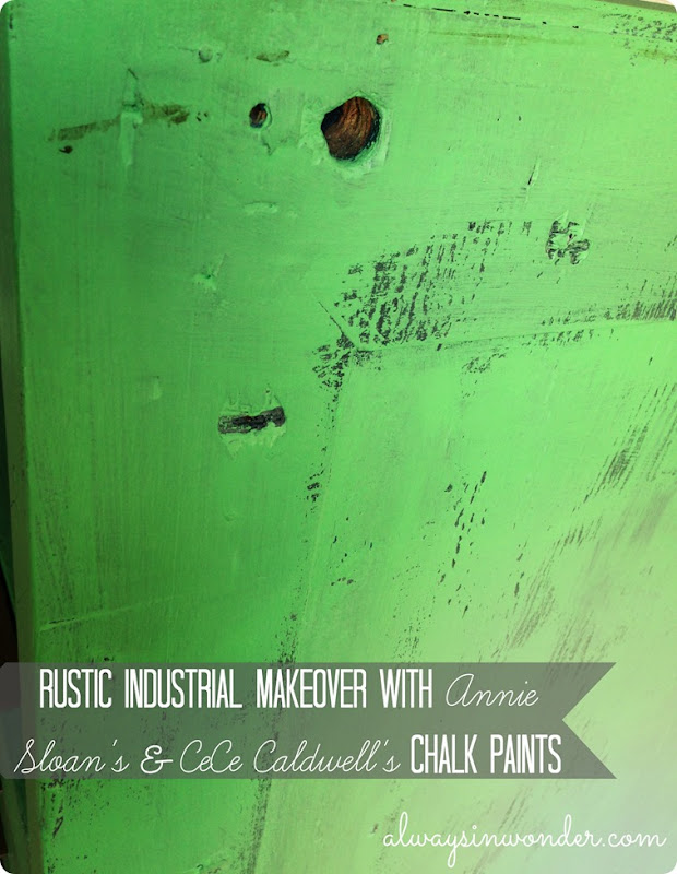 Rustic industrial makeover with annie sloan and cece caldwell chalk paints