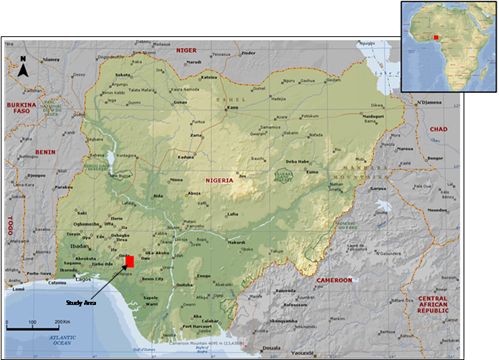 Nigeria map_olokuta rocks