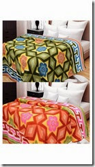 PayTM: Double Bed Blanket Buy 1 Get 1 Free at Rs.499 + 25% Cashback