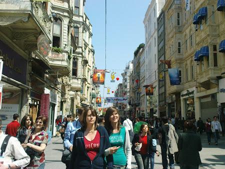 Obiective turistice Istanbul: Istiklal