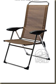 Worldwide Merchandise Company   Lightweight Adjustable Folding Arm Chair   D09 1008   Outdoor Chairs   Camping World