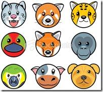 caras de animales para imprmir (9)