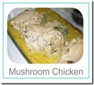 mushroom chicken button