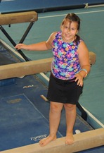 Mikayla at Gym