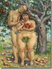 Adamo e Eva 116,7cm x 90,9cm