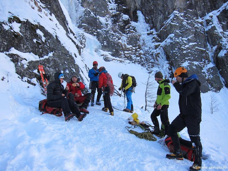 2013.02.18 - Cascada de gheata Mordor (WI 5, 315m)