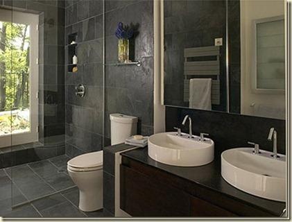 decoración moderna para baños grandes-f