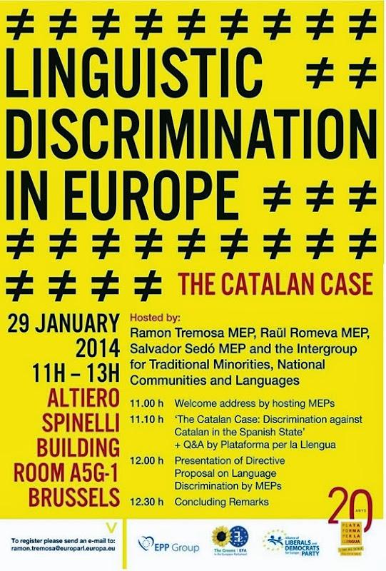 Discriminacion del catalan