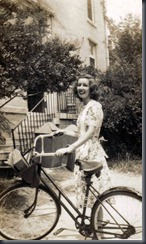 mama at unc-chapel hill 1944