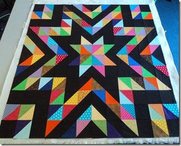Larry Lobster Raffle quilt. (2)
