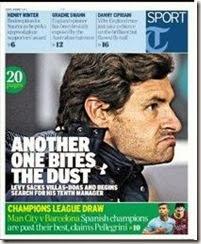 AVB sacked