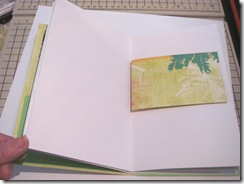 pamphlet book 3 hole lime short page w palms