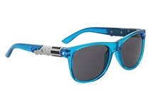 Lightsaber Sunglasses from Hot Topic (blue)