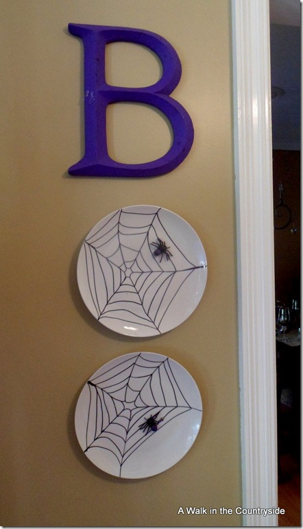 """BOO"" Halloween Wall Decor @ A Walk in the Countryside"