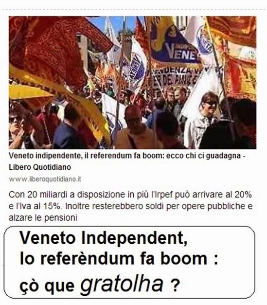 Veneto independéncia Libero Quotidiano