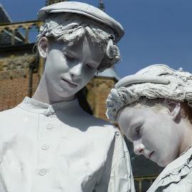 living statues kids Arnhem /netherlands by Patricia Vleeming - People Street & Candids