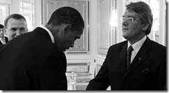 Obama Bows 4