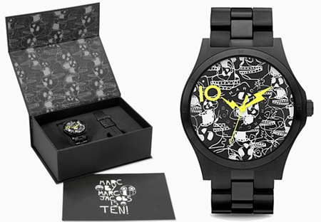 Marc by Marc Jacobs celebra 10 anos da marca com lançamento do relógio comemorativo.